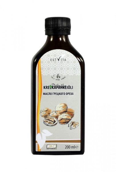 Vlašský orech 200ml. 100% prírodný olej lisovaný za studena 8a1e74515d8