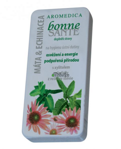 Aromaterapeutické tablety - Mäta a echinacea